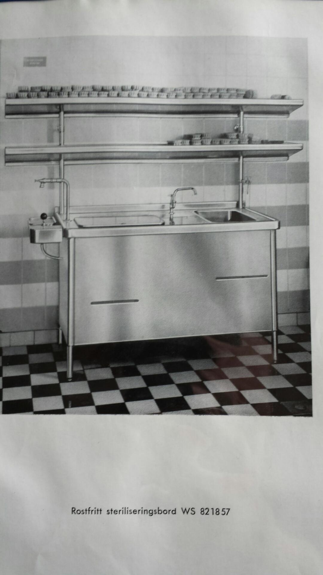 LA Rostfria katalogbild 1957